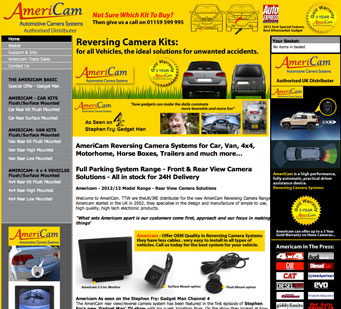 AmeriCam Reversing Camera Systems for Car, Van, 4x4, Motorhome, Horse Boxes, Trailers and much more...