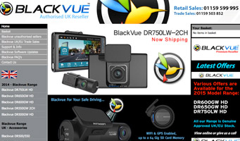 Blackvue UK - DR400G HD, DR380G HD