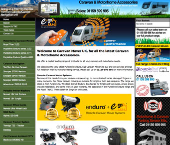 Caravan & Motorhome Accessories - caravam Movers