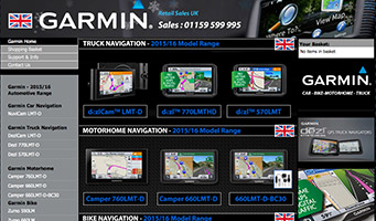 Garmin navigation UK