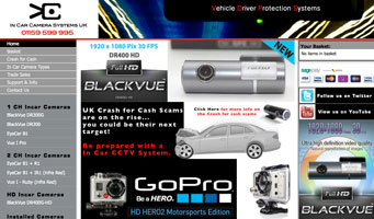 In Car Camera Systems - Blackvue - Exeros Cube - Eye Plus