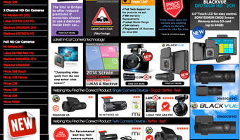 In Car Camera Systems UK Website
