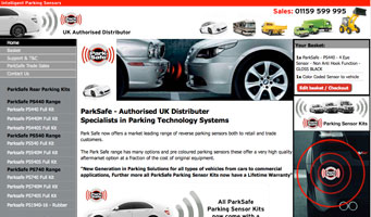 Park Safe - Reversing Parking Sensors, Forward Parking Sensors